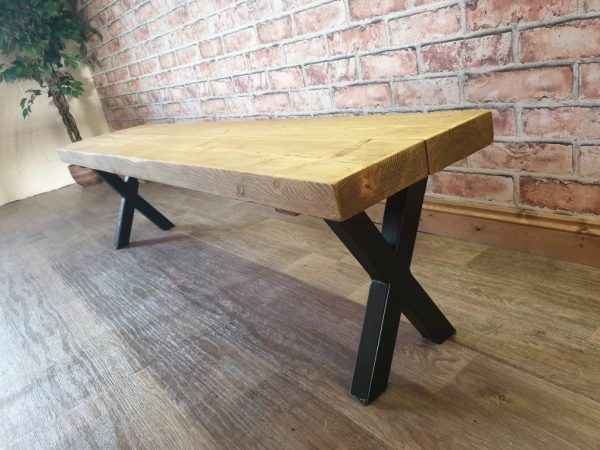 handmade wooden furniture x legs
