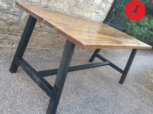 Industrial A Frame Bench handmade